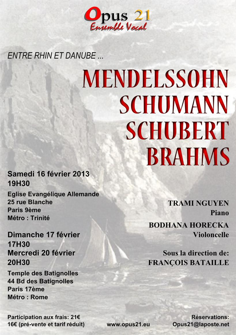 2013 – Entre Rhin et Danube – Opus 21